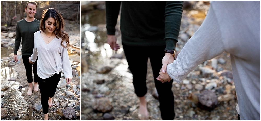 couple photos walking