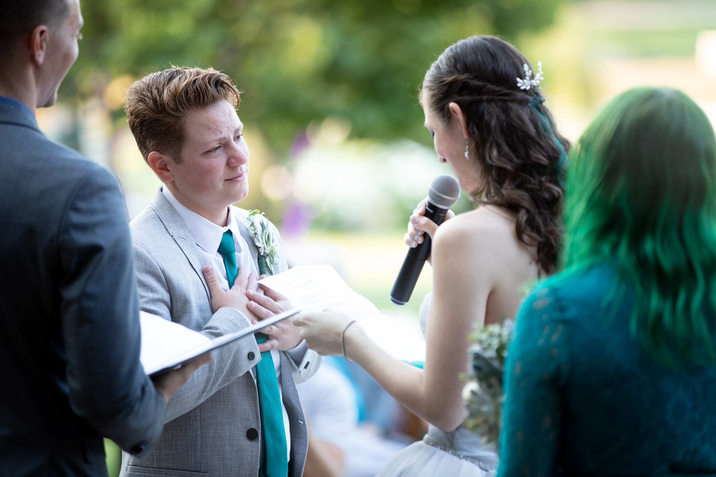Gay Lesbian Wedding